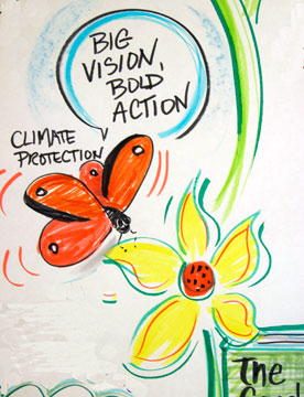 Visuals open big visions to bold actions © Christine Walker