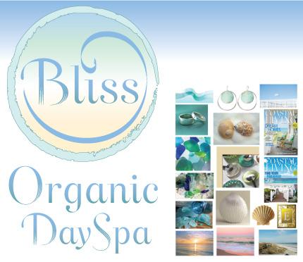 Bliss Organic Day Spa logo by Christine Walker
