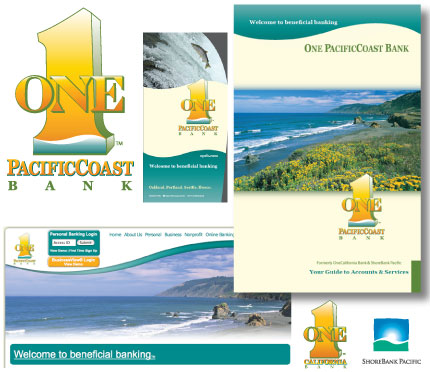 Rebranding of OneCal to One PacificCoast Bank by Christine Walker