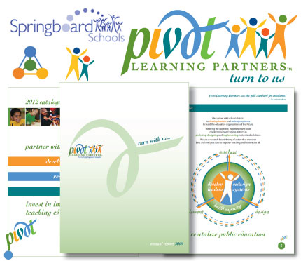 Rebranding of Pivot Learning Partners from Springboard Schools by Christine Walker