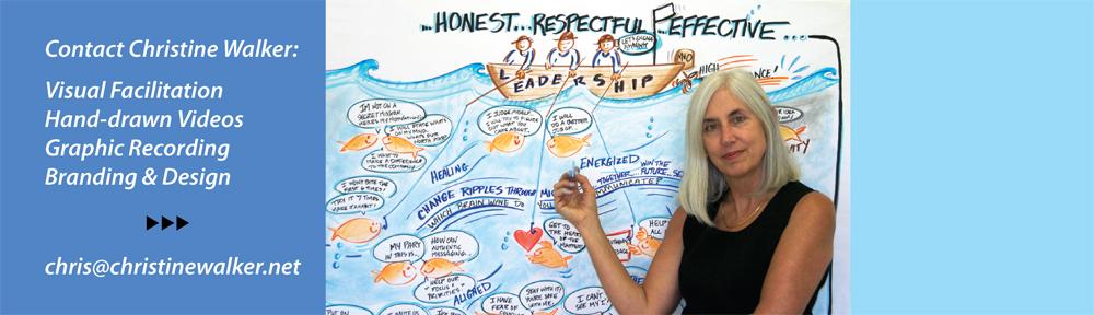Christine Walker visual facilitator